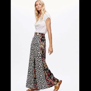 Free people in the mix palazzo pants